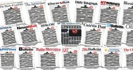 অস্ট্রেলিয়ায় প্রথম পাতার লেখা মুছে সংবাদপত্রের বিরল প্রতিবাদ