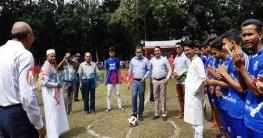 ভেদরগঞ্জে বঙ্গবন্ধু গোল্ডকাপ জাতীয় ফুটবল টুর্নামেন্ট শুরু