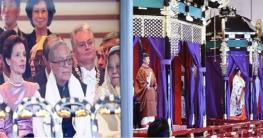 জাপান সম্রাটের অভিষেকে রাষ্ট্রপতি