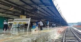 নতুন সাজে চলতি মাসেই চালু হবে বিমানবন্দর রেলওয়ে স্টেশন