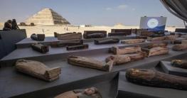 আড়াই হাজার বছর আগের সোনায় মোড়ানো ১০০ কফিন উদ্ধার